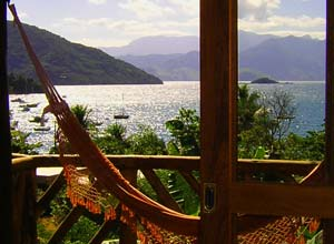 View from Pousada Naturalia, Ilha Grande
