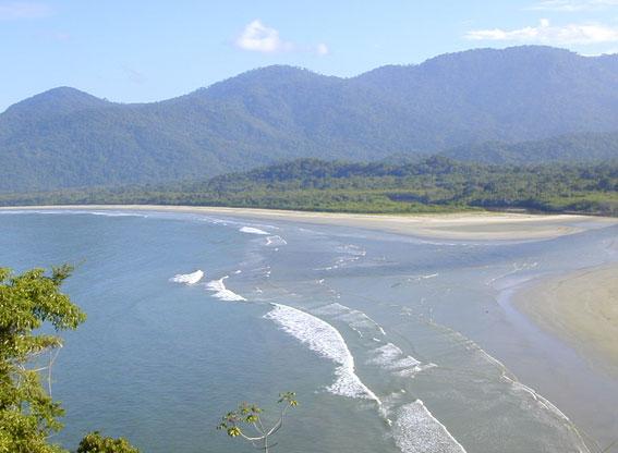 Costa verde coast, Brazil