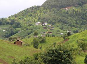 Shan Hills scenery