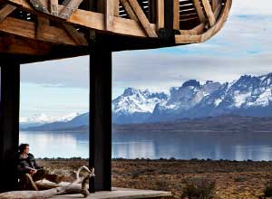Lake Sarmiento from Tierra Patagonia