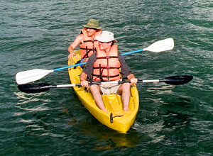 Kayaking is one of the activities available at Bosque del Mar