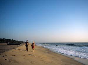 Kannur Beach, Malabar, India