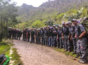 Meet the team for your Inca Trail