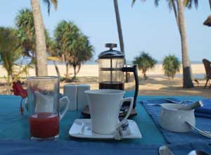 Breakfast at Neeleshwar Hermitage