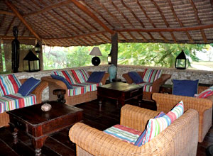 The lounge at Dunes d'Ifaty