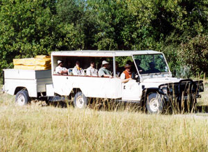 Bushways safari vehicle