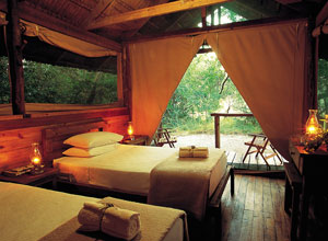 Kosi Forest Lodge bedroom